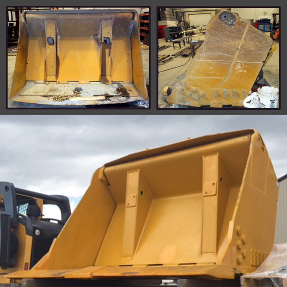 Bucket Repair for Loader Billings